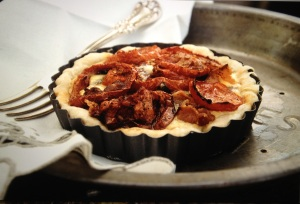Rustic Tomato Tartlet
